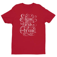 Inspirational-Men's Stand Your Ground T-shirt-Red-XS-StolenCompany