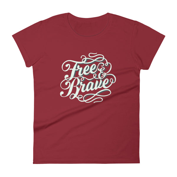 Ladies' Free and Brave T-Shirt