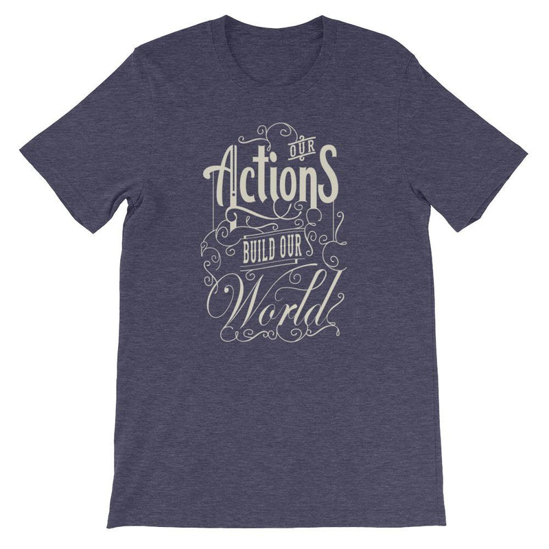 products/our-actions-build-our-world-t-shirt-heather-midnight-navy-xs-4.jpg