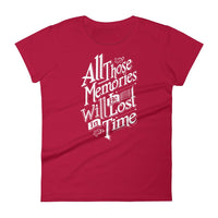 Inspirational-Women's Memories T-Shirt-Red-S-StolenCompany