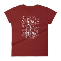 Inspirational-Women's Stand Your Ground T-Shirt-Independence Red-S-StolenCompany