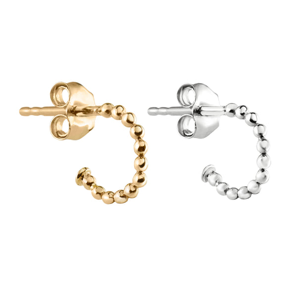 Metier by Tomfoolery: Beaded Hoop Earrings