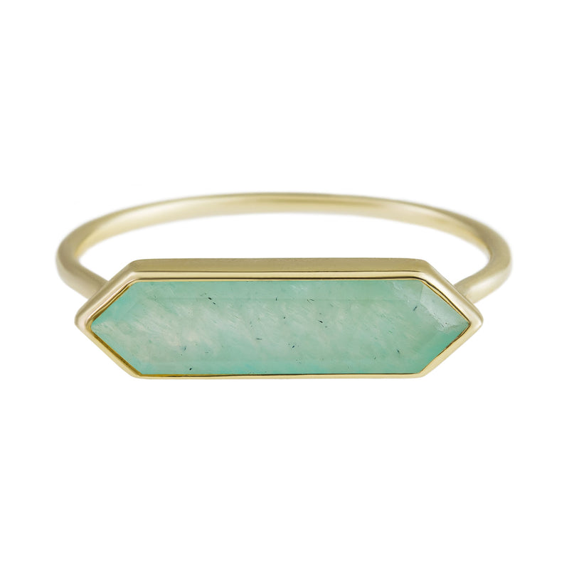 Metier by Tomfoolery: Amazonite Hexa Ring