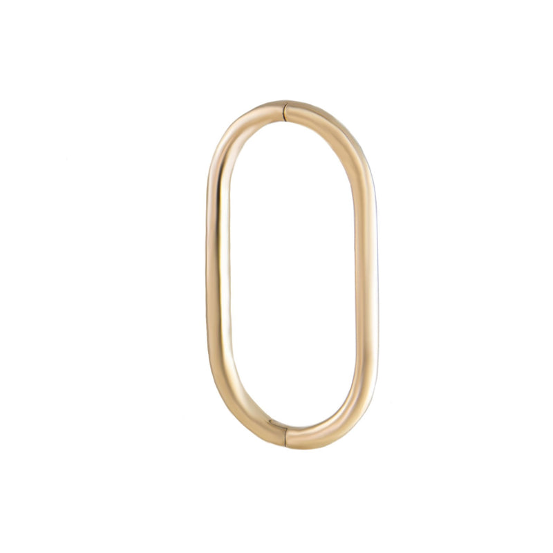 Seamless Oval Clicker Hoops