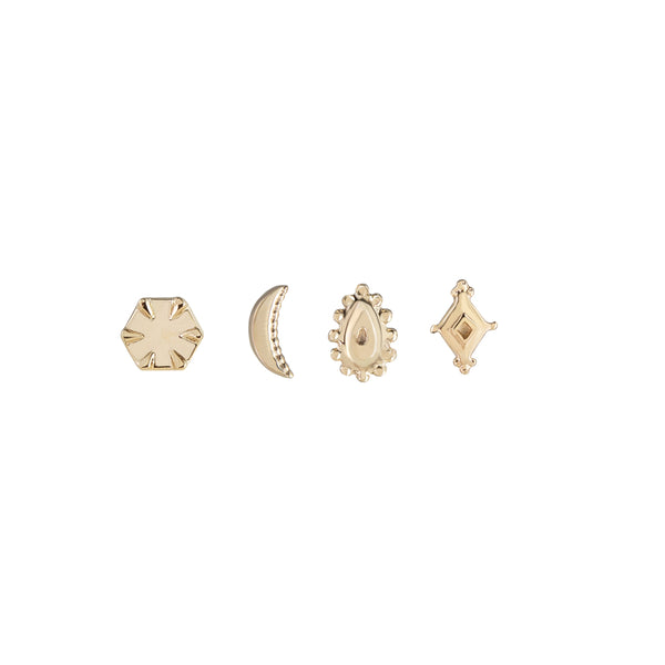 metier by tomfoolery: mini gold studs