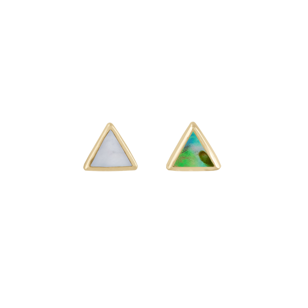 metier by tomfoolery: triangle stud