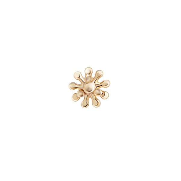 Yellow Gold Dala Studs
