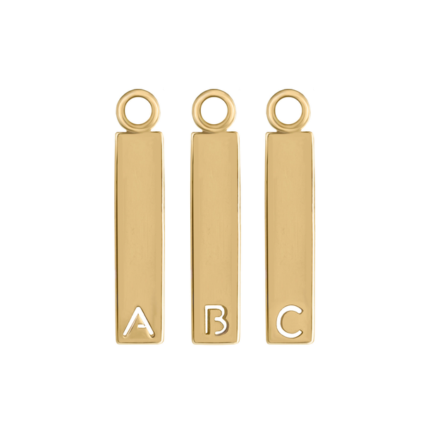 Metier by tomfoolery: Gold Alphabet Plaques