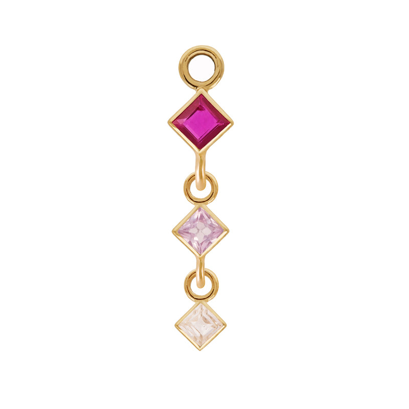 Triple Princess Gemstone Plaque