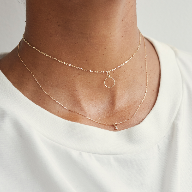 Metier by Tomfoolery: Roma Adjustable Chain Necklace
