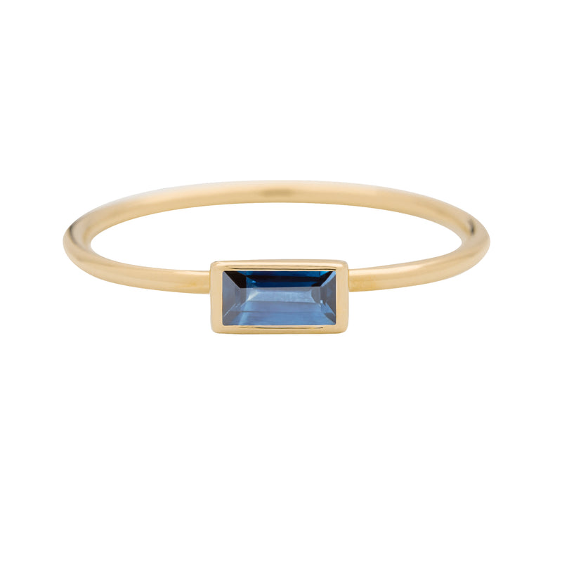 metier by tomfoolery: Blue Sapphire & Diamond Dala Stack