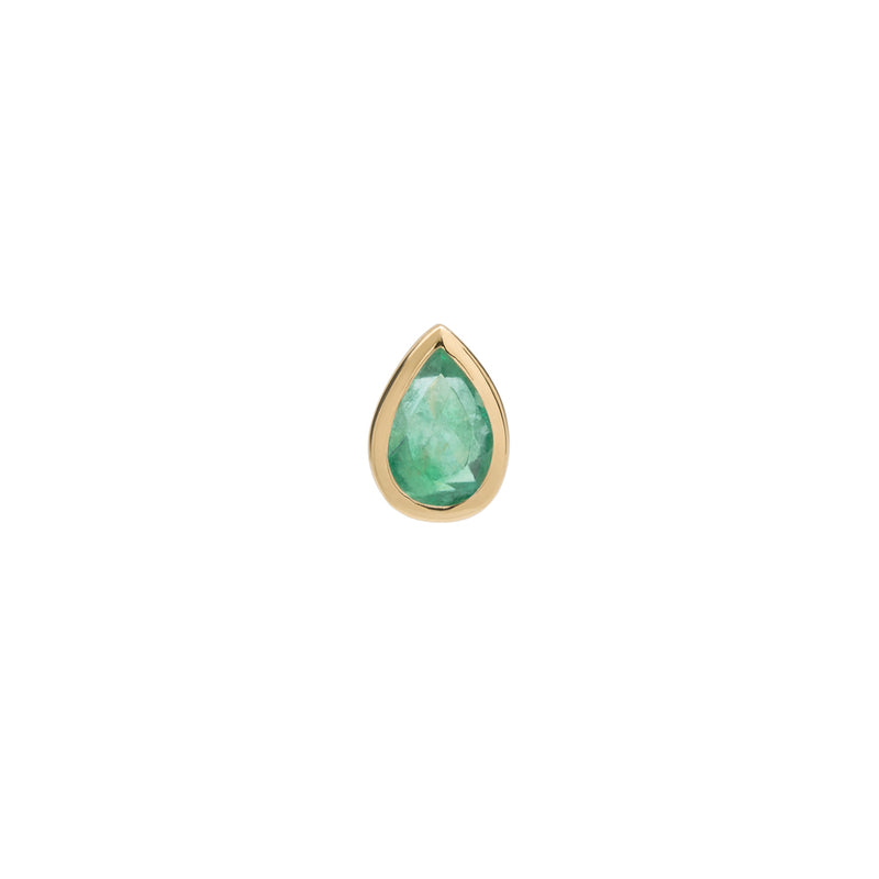 Pear Cut Gemstone Studs