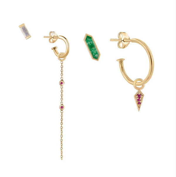Ruby and Emerald Ear Story
