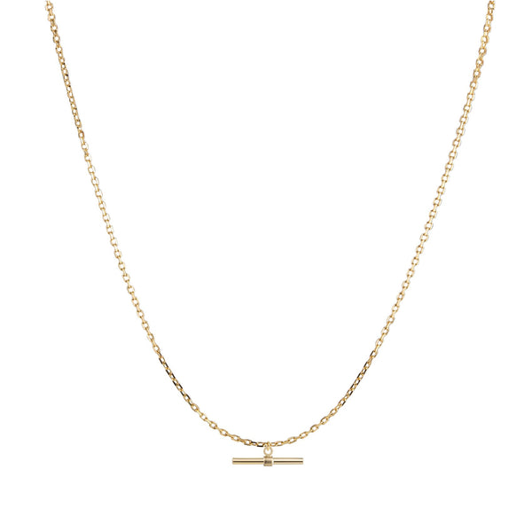 "28"" T Bar Necklace"