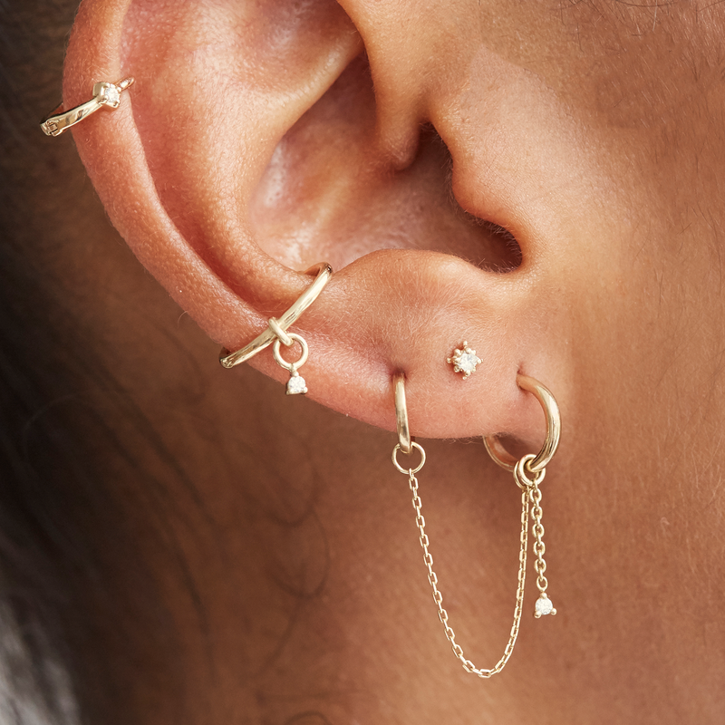 Metier by Tomfoolery: Petite Diamond Ear Story