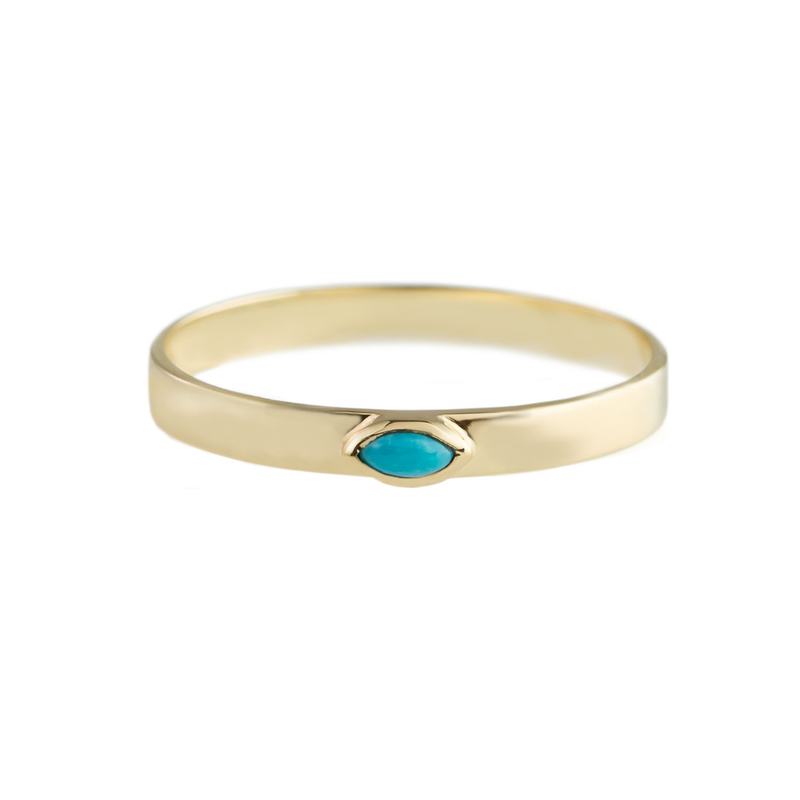 Metier by Tomfoolery: Turquoise Stacking Bands