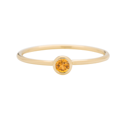 Metier by Tomfoolery: Citrine Stacking Rings
