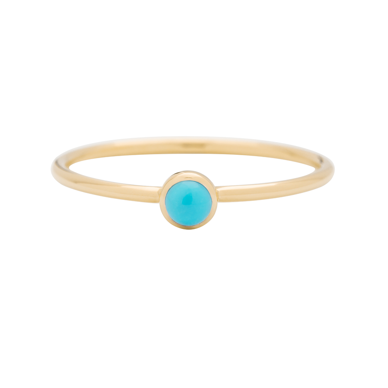 Metier by Tomfoolery: Turquoise Stacking Rings