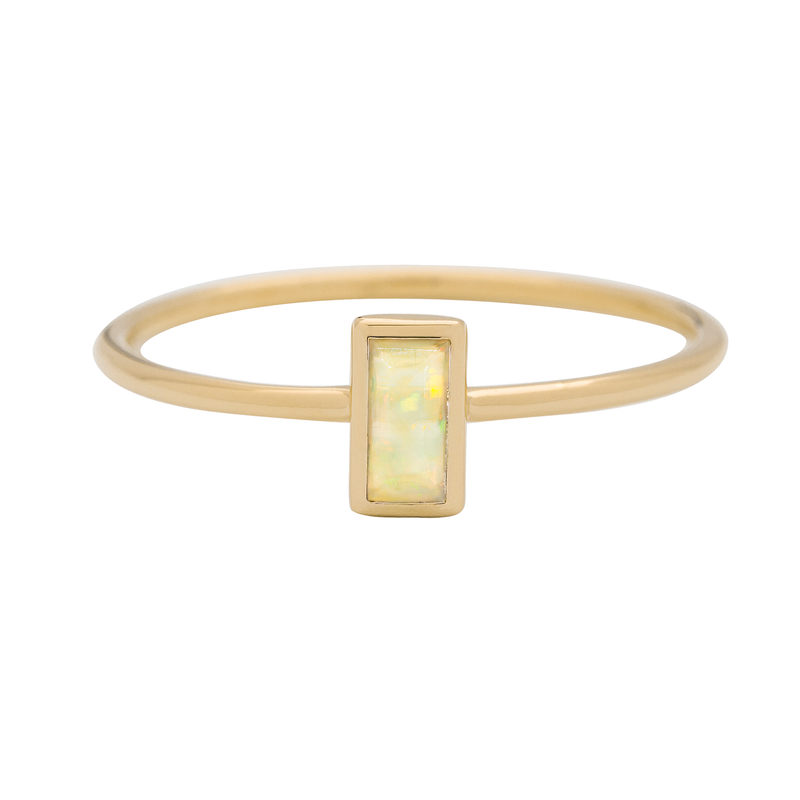 Metier by Tomfoolery: Opal Stacking Rings