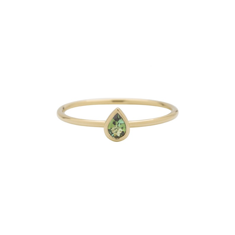 Metier by Tomfoolery: Tourmaline Stacking Rings