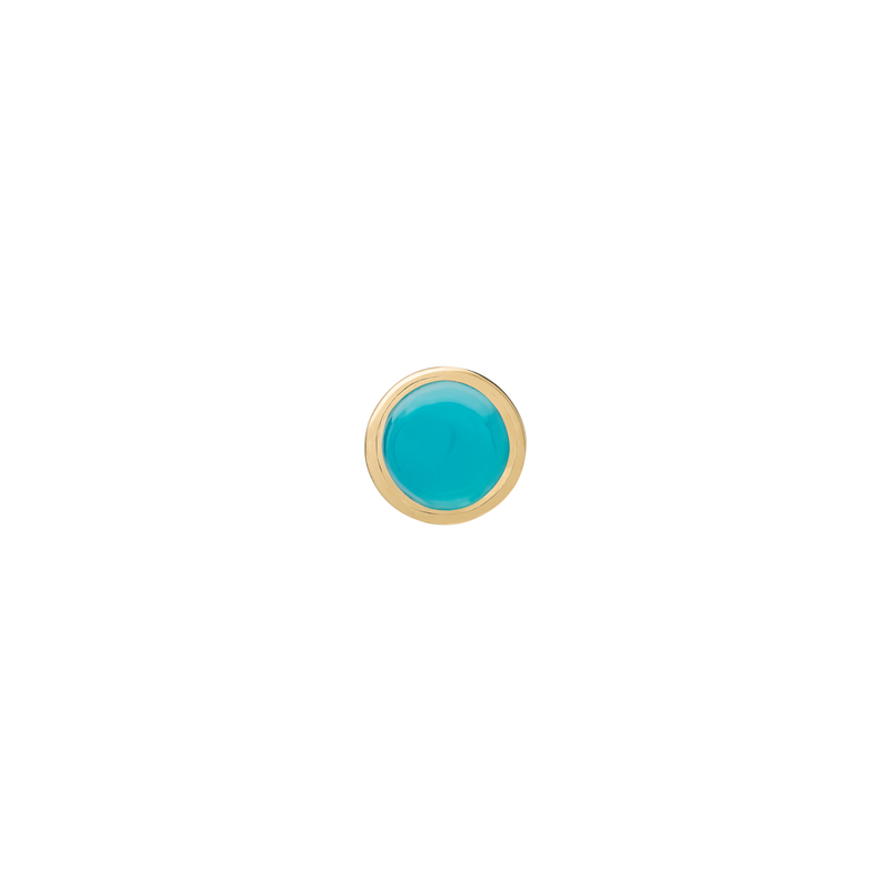 Metier by Tomfoolery: Turquoise Stud Earrings