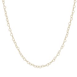 Metier by Tomfoolery:  Gold Heart Chain