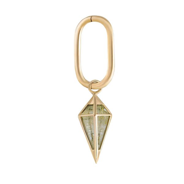 Midi Oval Clicker Hoop + Short Pendulum Plaque