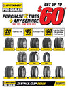 Exclusive to Dunlop Pro Dealers - Extended Spring Promo