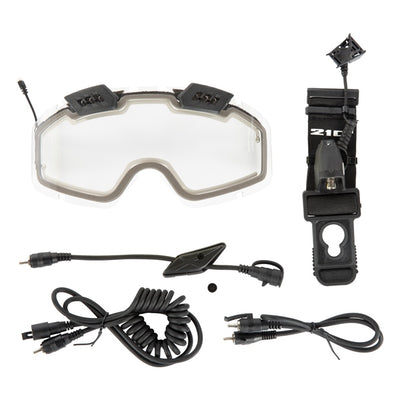 CKX 210° Electric Snow Goggles Upgrade Kit with Controled Ventilation