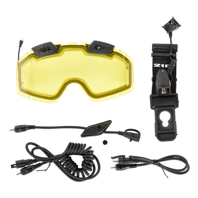 CKX 210° Electric Snow Goggles Upgrade Kit - Euromoto 2018