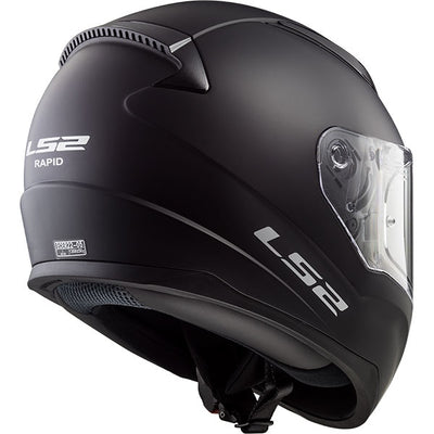 LS2 Rapid Full-Face Helmet, Solid