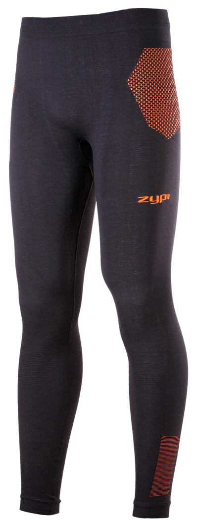 Zypi Thermal HMW10 PANTS BLACK/ORANGE