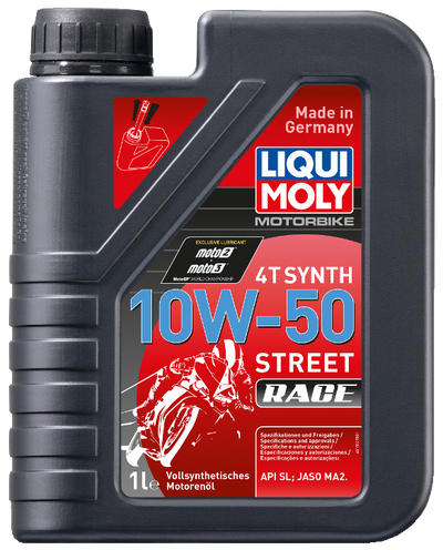 Liqui Moly 4T Synth Street Race Motor Oil