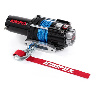 Kimpex 2500 lbs Winch Kit with Synthetic Rope  Part# 2500