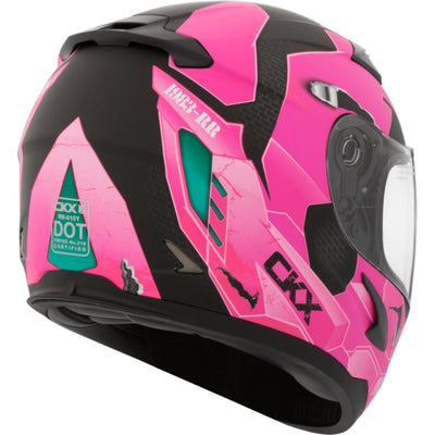 CKX RR610Y Full-Face Youth Summer Helmet, Cosmo