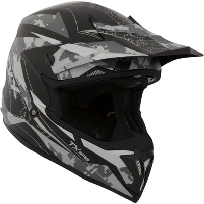 CKX TX696 Off-Road Summer Helmet, Glitch - Euromoto 2018