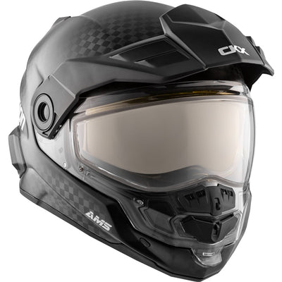 CKX Mission Modular Winter Helmet, Carbon