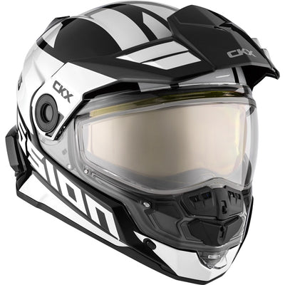 CKX Mission AMS Full Face Helmet Space White - Winter Electric Double Shield