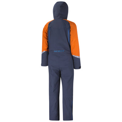 SCOTT MONOSUIT DS SHELL DRYO NIGHT BLUE/BURNT ORANGE