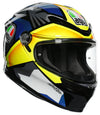 AGV HELMET K-6 JOAN BLACK/BLUE/YELLOW