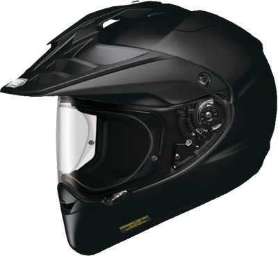 Shoei Hornet X2 - Motorcycle Dual Sport Helmet - Solid Colors