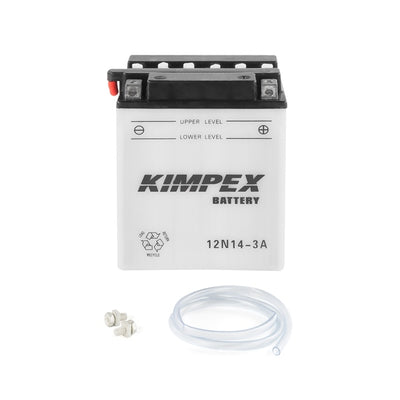 Kimpex Battery Conventional 12N14-3A  Part# 12N14-3A