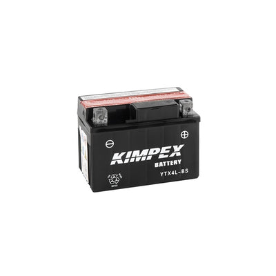 Kimpex Battery Maintenance Free AGM YTX4L-BS  Part# HTX4L-BS