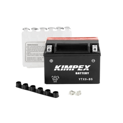 Kimpex Battery Maintenance Free AGM YTX9-BS  Part# HTX9-BS