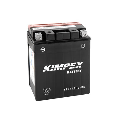 Kimpex Battery Maintenance Free AGM High Performance YTX14AHL-BS  Part# HTX14AHL-BS