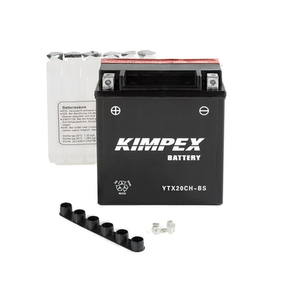 Kimpex Battery Maintenance Free AGM High Performance YTX20CH-BS  Part# NULL