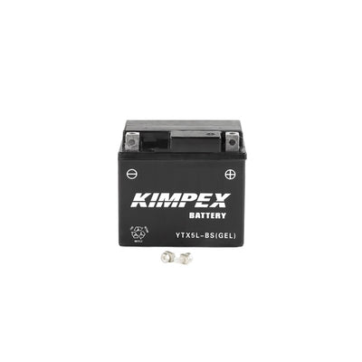 Kimpex Battery Maintenance Free AGM YTX5L-BS(GEL)  Part# HTX5L-BS(GEL)