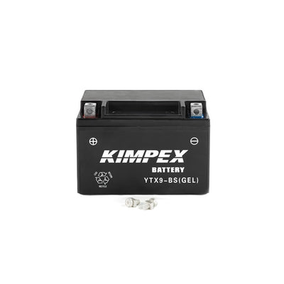 Kimpex Battery Maintenance Free AGM YTX9-BS(GEL)  Part# HTX9-BS(GEL)