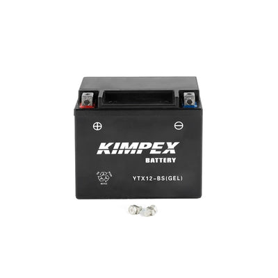 Kimpex Battery Maintenance Free AGM YTX12-BS(GEL)  Part# HTX12-BS(GEL)