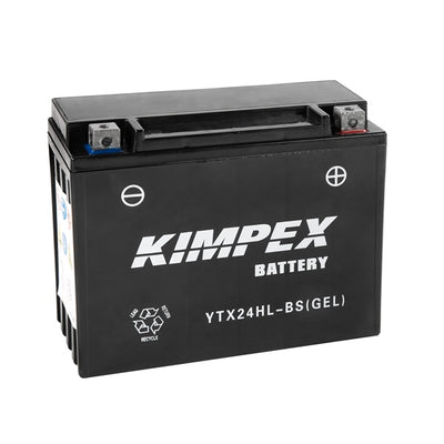 Kimpex Battery Maintenance Free AGM High Performance YTX24HL-BS(GEL)  Part# HTX24HL-BS(GEL)
